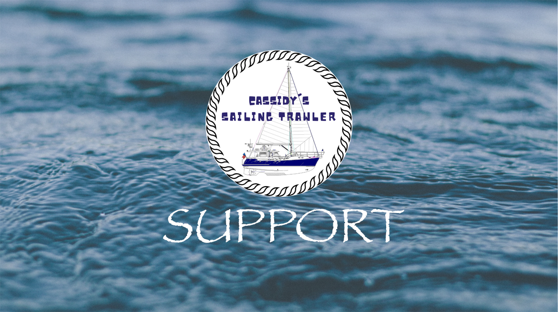 Cassidy's Sailing Trawler | Fan Funding and crowdfunding for sailors, boaters and yacht influencers at FanBeach.com
